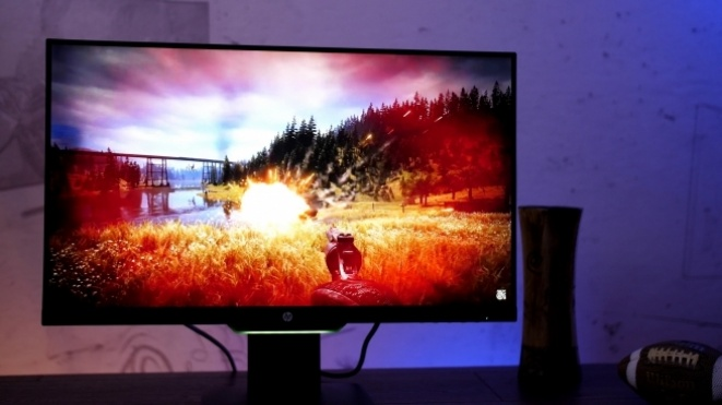 Test: HP 25x gejming monitor