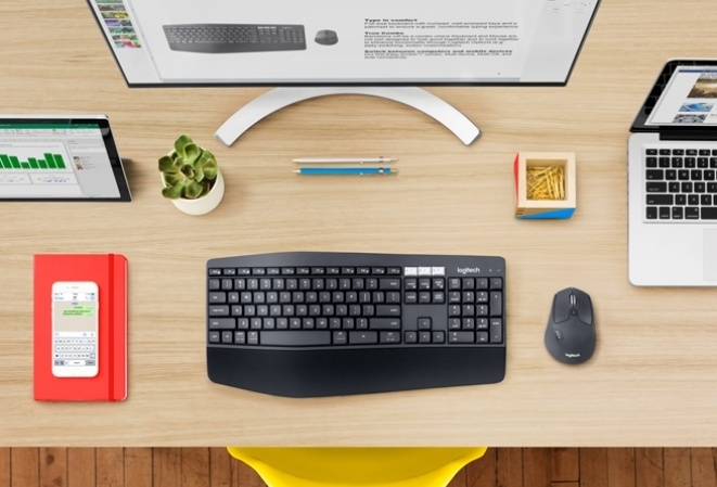 Test: Logitech MK850 Performance desktop komplet