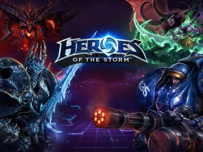 Opis igre: Heroes of the Storm