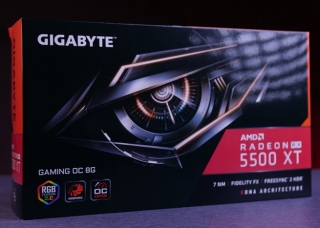 Test: Gigabyte RX 5500 XT Gaming OC 8G (Video)