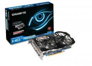 Test: Gigabyte Radeon HD 7850 WindForce OC