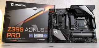 Test: Z390 Aorus Pro (Video)