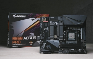 Test: Gigabyte B550 Aorus Pro (Video)