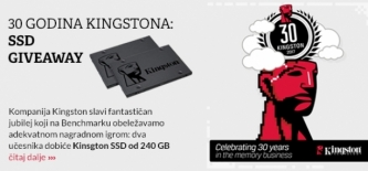 30 godina Kingstona: SSD giveaway (video)