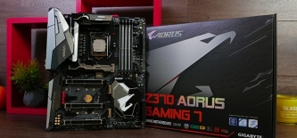 Test: Gigabyte Z370 AORUS Gaming 7 (video)