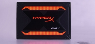 Test: HyperX FURY RGB 480GB SSD