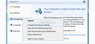 How To: Windows 7 Homegroup file sharing