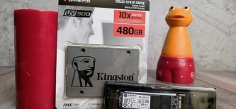 Test: Kingston UV500 SSD
