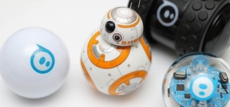 Test: Sphero roboti