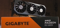 Test: Gigabyte RX 6800 GAMING OC 16G (Video)