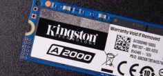 Test: KINGSTON A2000 NVMe M.2 1TB SSD (Video)