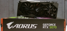 Test: AORUS GeForce RTX 3070 MASTER 8G