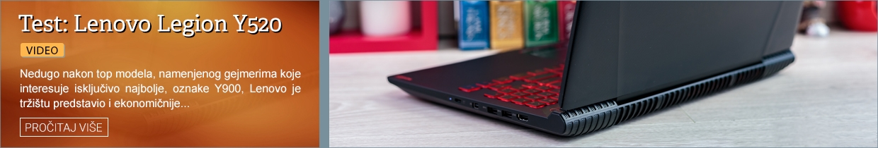 Test: Lenovo Legion Y520 (Video)