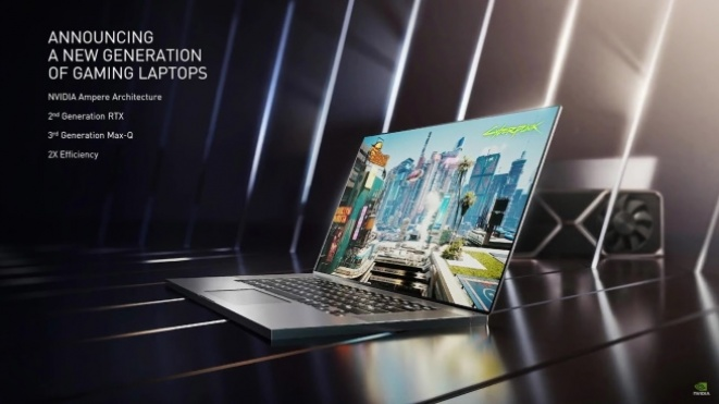 Nvidia RTX 30 graphics cards on laptops arrive from January 26th