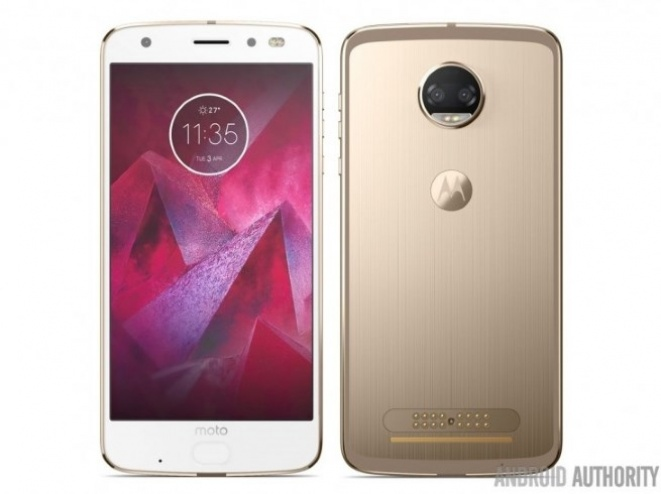 Render Moto Z2 Force telefona
