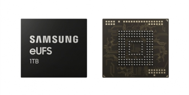 Samsung developed the first slides with a 1TB phone storage.