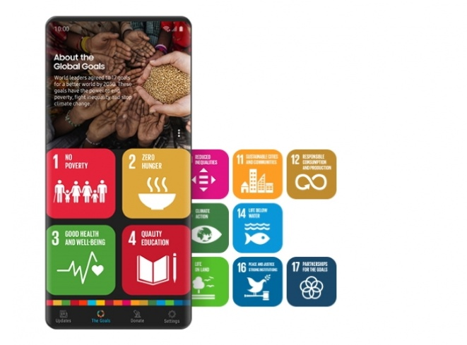 Samsung podržava program Global Goals