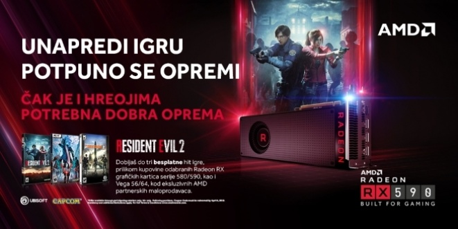 Resident Evil 2 fills the record with a Radeon GPU and