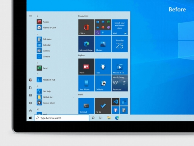 Microsoft testira novi Start meni za Windows 10