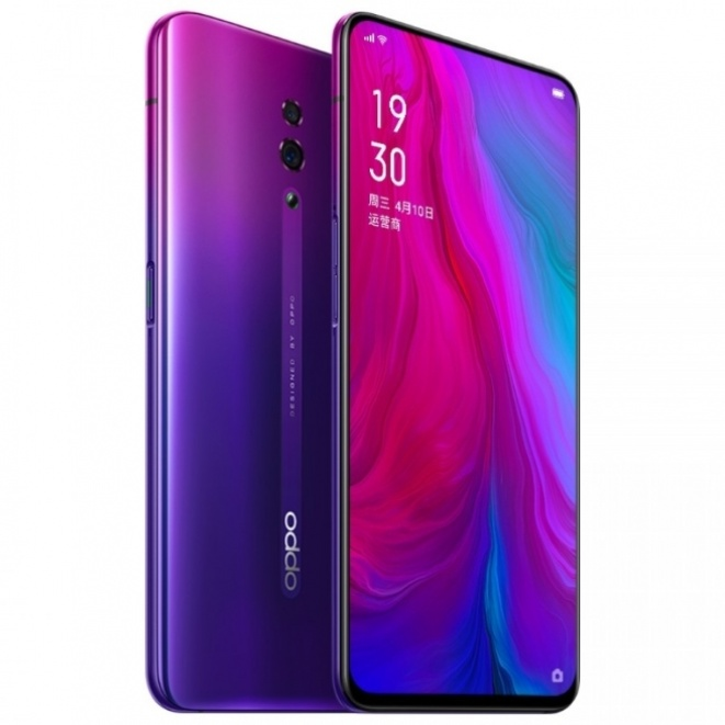 There is no official Oppo Reno statue showing a 10x zoom camera