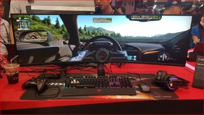 MSI prikazao 32:9 Optix MAG491C FreeSync monitor