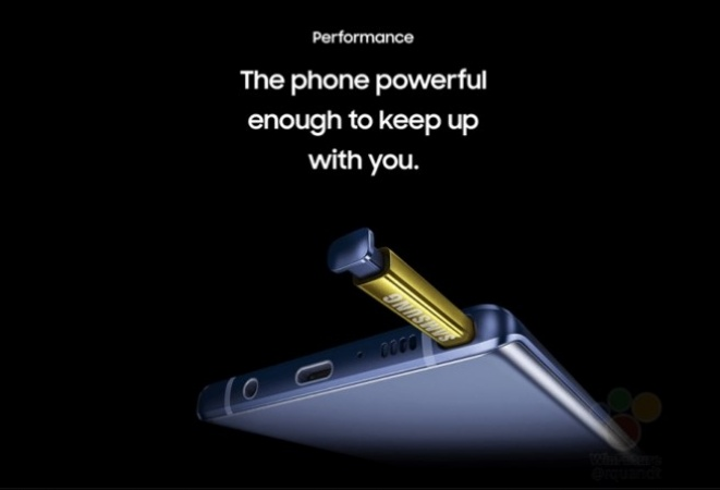 Details about the Galaxy Note9 S Pen, cameras, DeX mode
