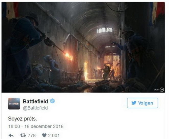 Pogledajte prvi tizer za Battlefield 1 They Shall Not Pass DLC