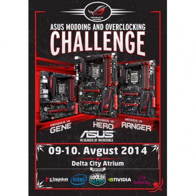 "Asus poziva na ""ASUS OVERCLOCKING AND MODDING CHALLENGE"""