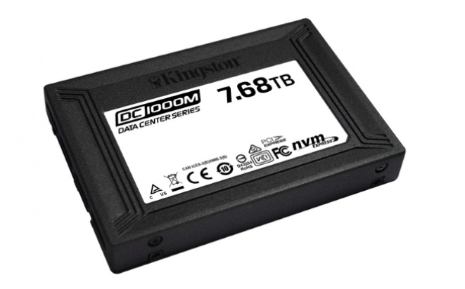 Kingston počinje sa prodajom DC1000M SSD-a, kapaciteta 7.68TB, namenjenog data centrima