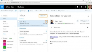 Outlook veb verzija dobija opcije za Like i @Mentions