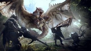 Capcom vredno radi na PC verziji Monster Hunter: World igre
