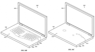 Apple patent za MacBook ukazuje na virtuelnu tastaturu i nevidljivi trackpad