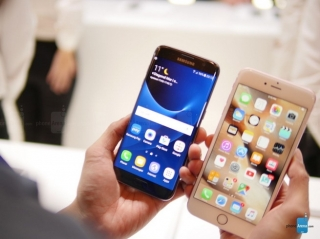 Samsung Galaxy S7 edge vs Apple iPhone 6s Plus: jedan pored drugog
