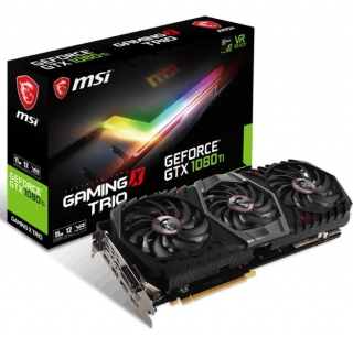 MSI objavio GeForce GTX 1080 Ti Gaming X Trio i Gaming Trio