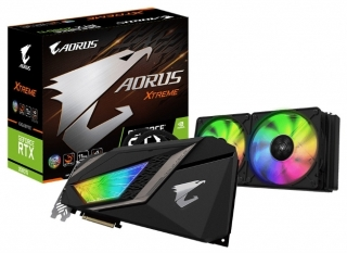 Gigabyte predstavio GeForce RTX 2080 Ti Aorus WaterForce Xtreme AIO