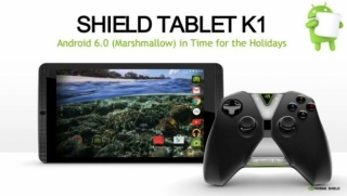 Nvidia Shield Tablet K1 gejming tablet dobio nadogradnju na Android 6.0 Marshmallow
