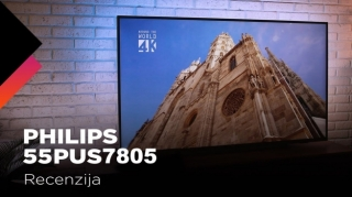 Testirali smo Philips 55PUS7805 TV (video)