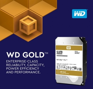 Western Digital donosi 12TB Gold hard diskove
