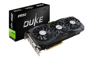 MSI donosi GeForce GTX 1080 Ti DUKE grafičku kartu
