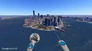 Google objavio Earth VR za HTC Vive