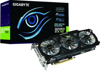 Gigabyte objavio GeForce GTX 760 WindForce 3X OC grafičke kartice