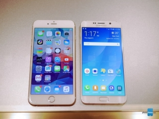 Pogledajmo poređenje Samsung Galaxy Note5 i Apple iPhone 6 Plus telefona