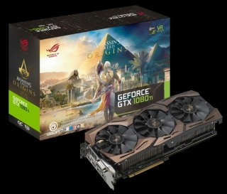 Asus prikazao Assassins Creed Origins ROG STRIX 1080 Ti Edition