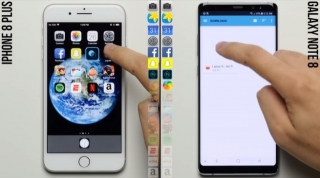 Apple iPhone 8 Plus protiv Samsung Galaxy Note8 na testu brzine (video)