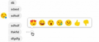 Facebook testira Reactions u Messengeru