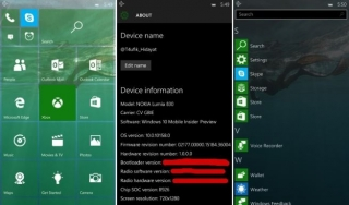 Windows 10 Mobile build 10158: detalji i screenshotovi
