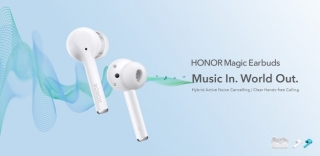 HONOR predstavio nove Magic Earbuds bluetooth slušalice
