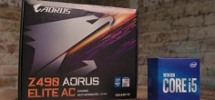 Intel Core i5 10400 + Z490 Aorus Elite AC recenzija (video)