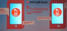 mBanking Expert aplikacija UniCredit Banke (video)