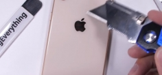 Kako iPhone 8 podnosi grebanje, paljenje i savijanje? (video)